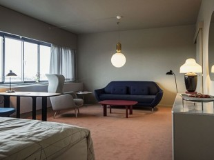 la suite 506 du SAS Royal Hotel de Copenhague